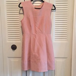 Dusty rose JCrew sleeveless dress, size 6
